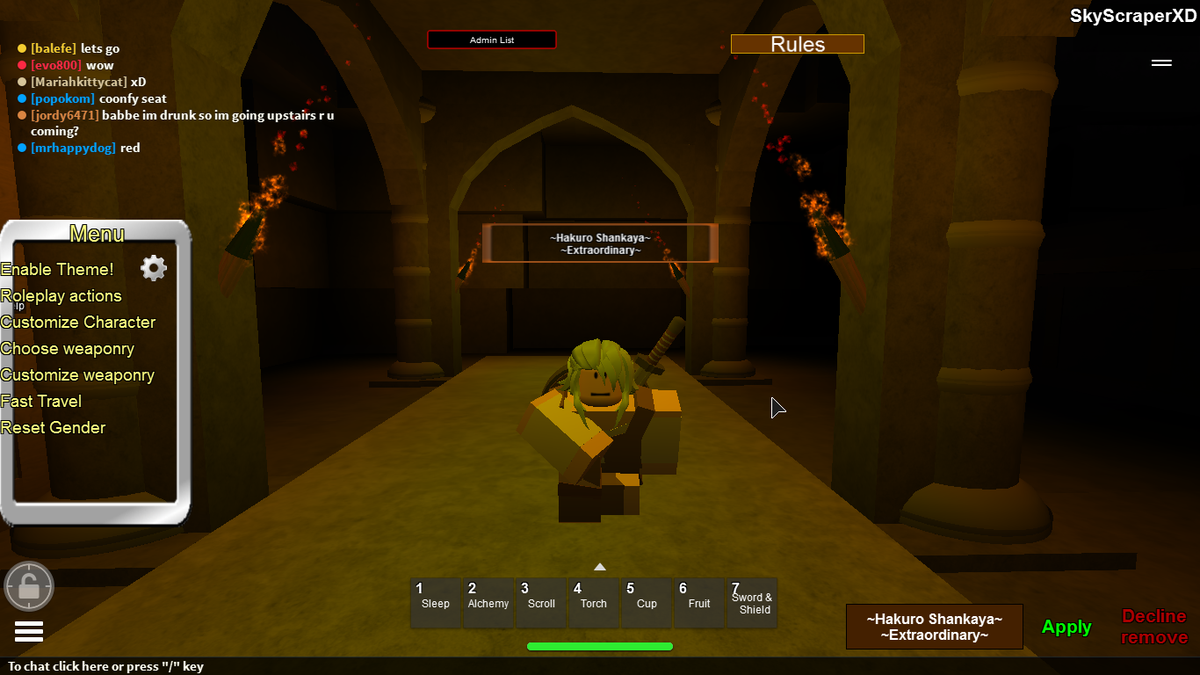 Roleplaying Ideas For Roblox