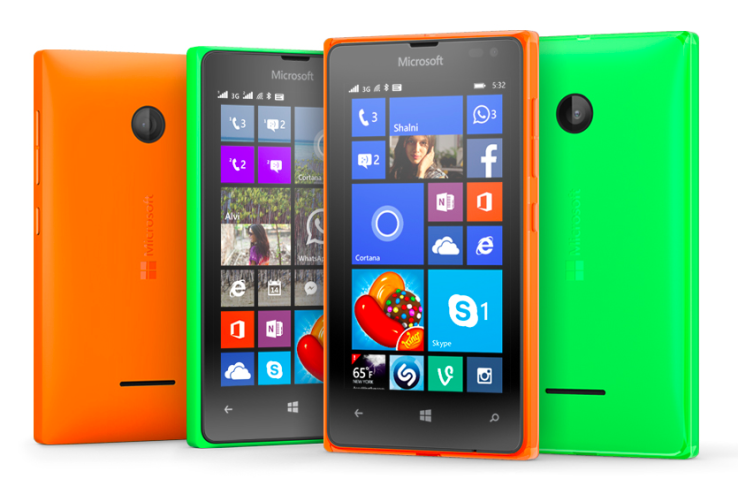 Microsoft has announced two new Lumia smartphones running its Windows Phone 8.1 mobile OS