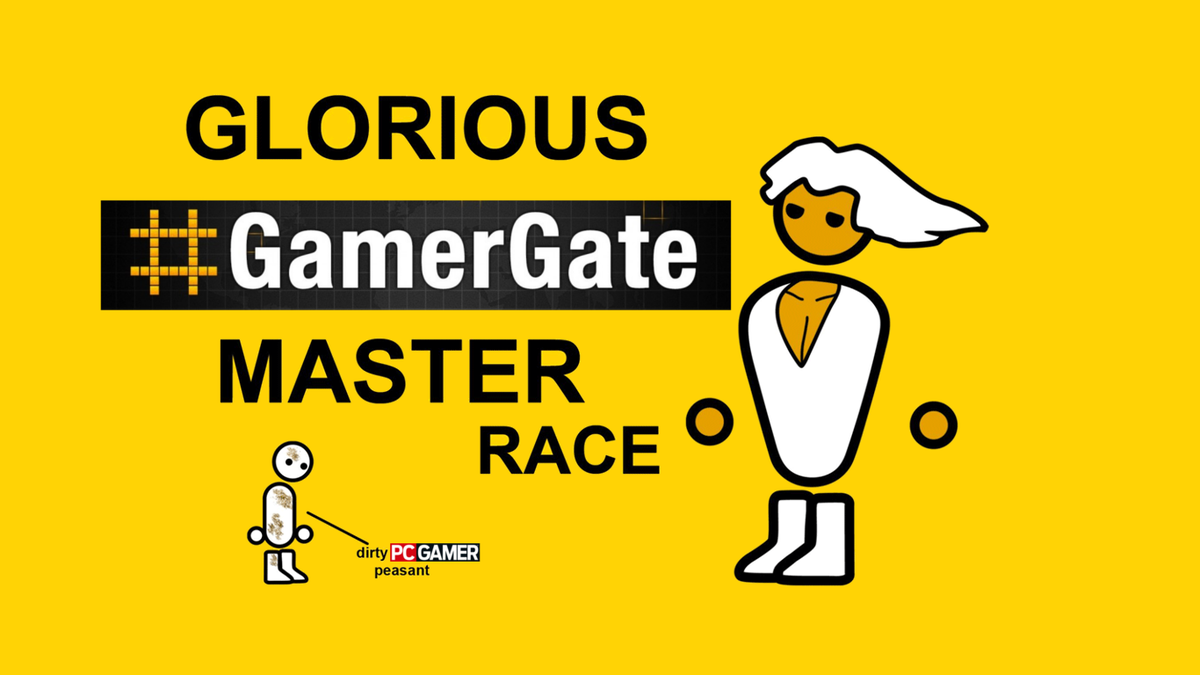 From 8chan, with love @pcgamer  #Gamergate #PCMASTERRACE http://t.co/G8EkiL2nnI