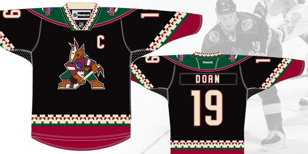 We're throwing it back to our original jersey on March 5th vs. Vancouver! Bonus: @Jeremy_Roenick will drop the puck. http://t.co/8cwilkqgEu