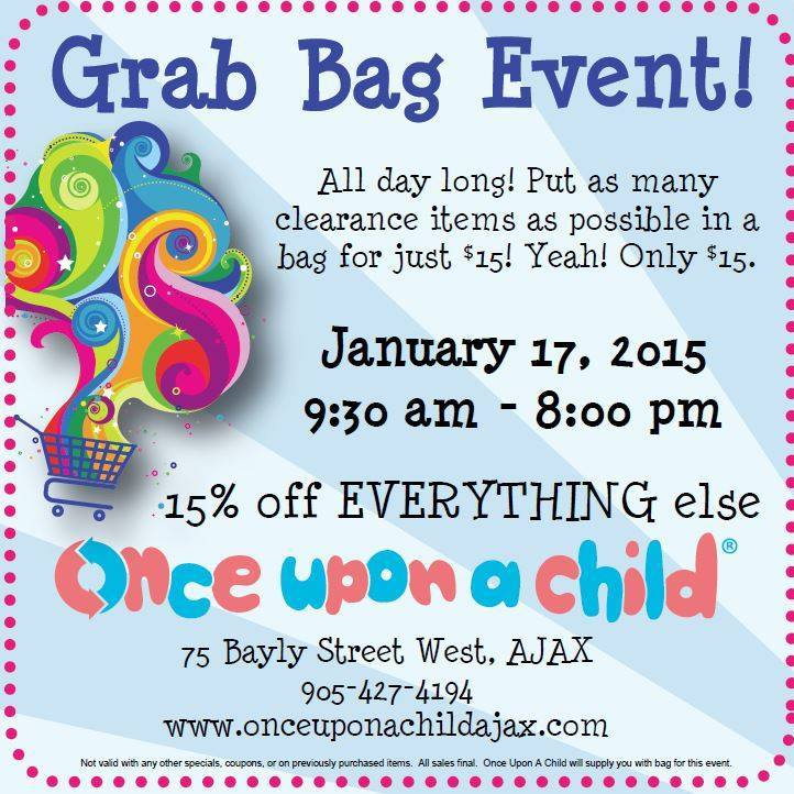 Our Famous Grab Bag Is Coming