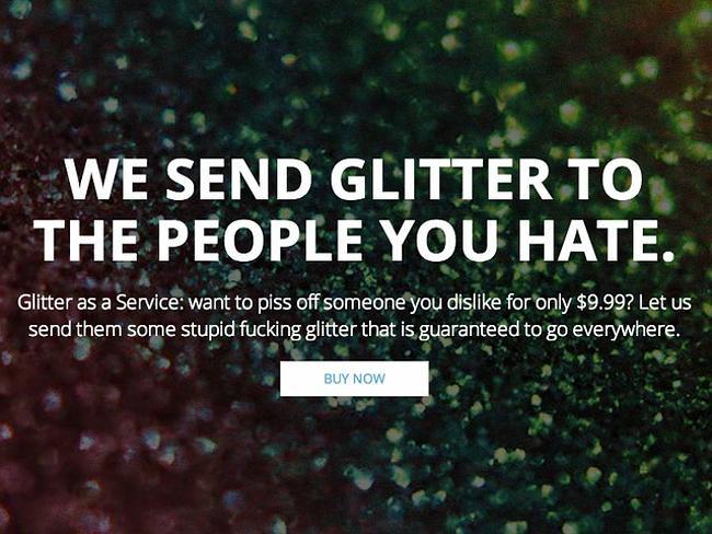 'Ship glitter to your enemies' creator begs the internet to stop: http://t.co/hNLR8n950X (via @CBCCommunity) http://t.co/5Yc7faFEAX