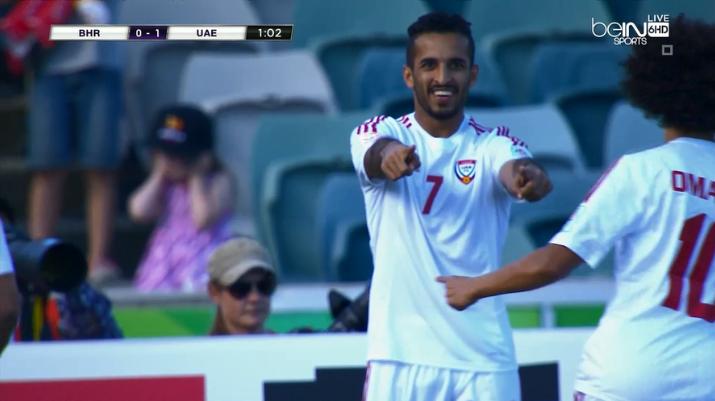 اهداف مباراة الإمارات والبحرين     كاس امم اسيا   15-1-2015