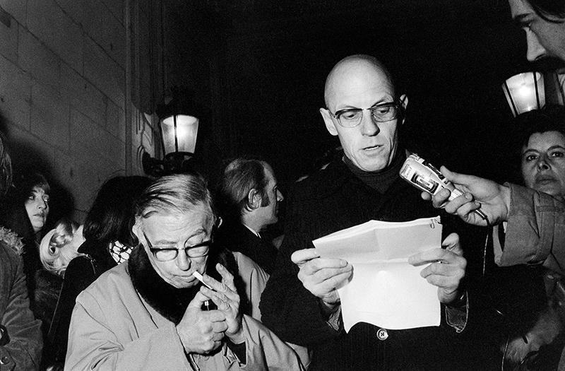 """Ο χρήστης Rus Khomutoff στο Twitter: """"Jean- Paul Sartre, Gilles ..."""
