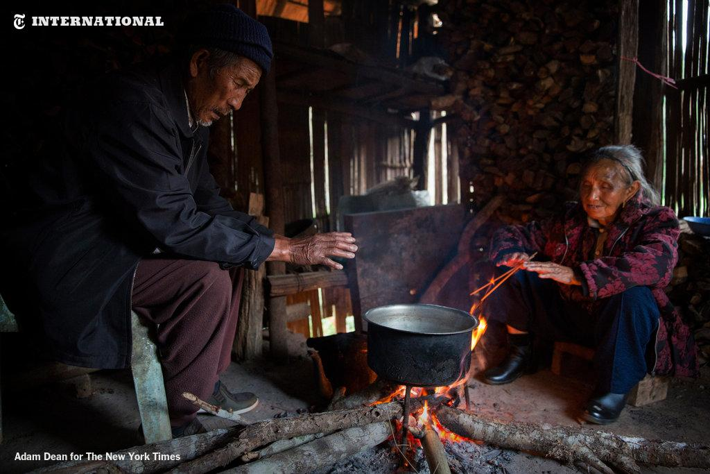 Descendants of China's 'Lost Army' preserve traditions in a remote Thai village.  http://nyti.ms/1INibfN