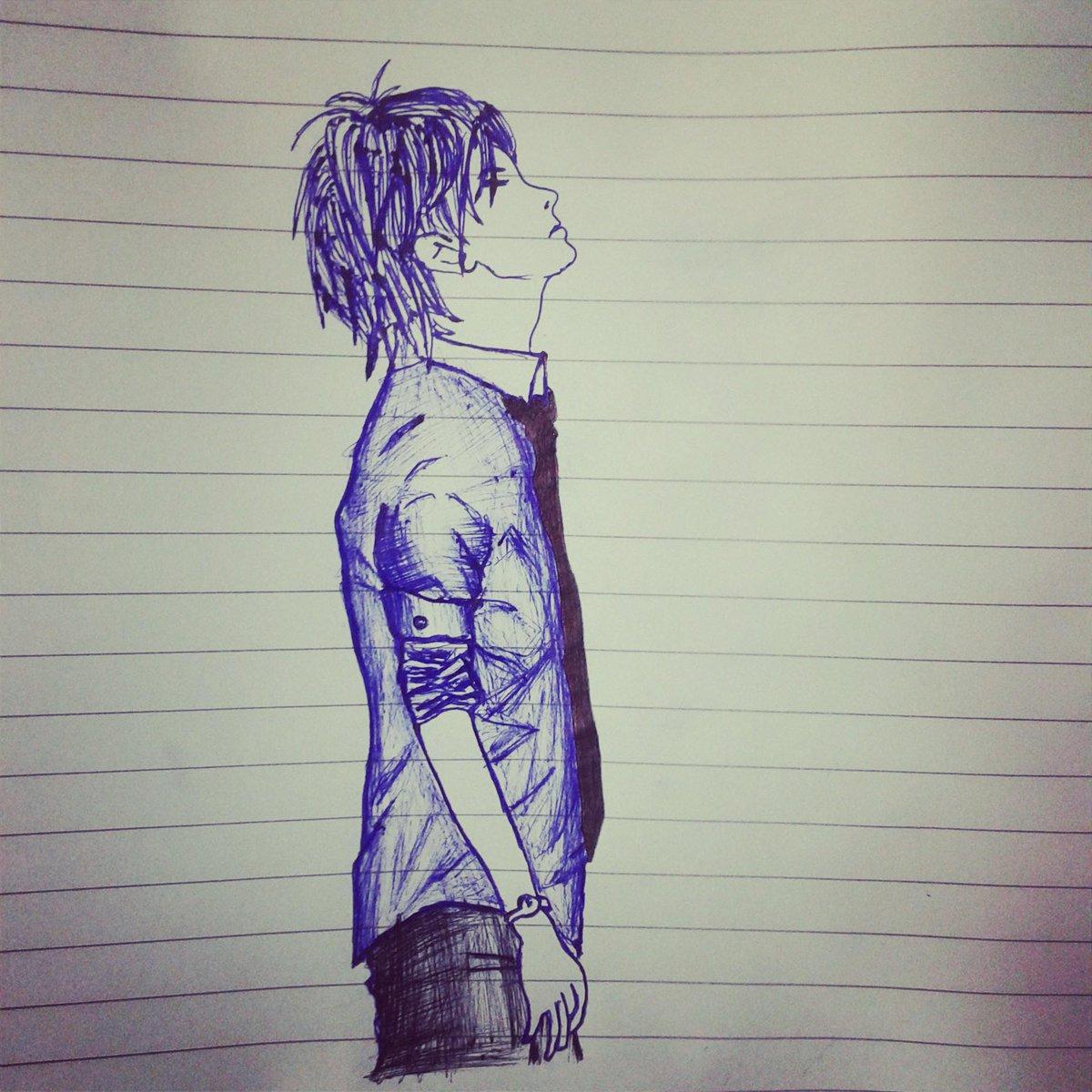 Ankush Pramanik On Twitter Sketch Anime Lovely Boy Wallpaper Art