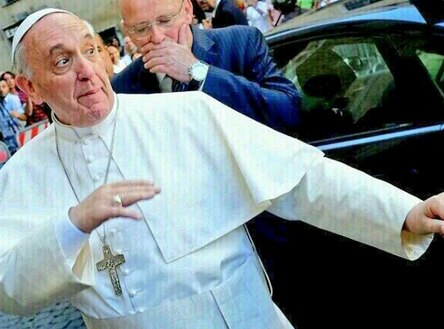 Pontifex 'bout to preach the sickest verse of all time http://t.co/P3pHH1TqZS