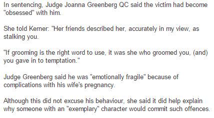 What a judge said to teacher who slept with his pupil, 16