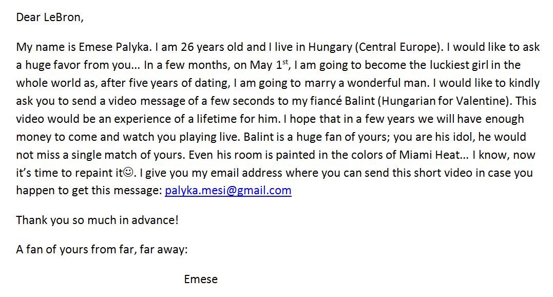 I Would Like To Surprise My Fiance On Our Wedding Day Please Help Me And Find Letter Attached Thx Http T Co Sny2drej5k