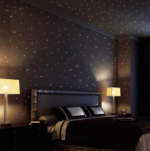 звездное небо потолок своими руками видео