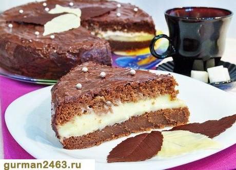 торт с какао с фото