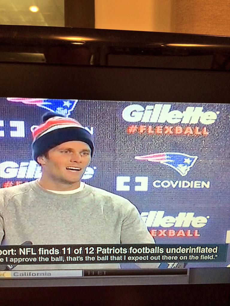 REALLY @Patriots?!?! THAT is the sponsor you place behind Brady in his presser?! REALLY?! http://t.co/iGO8OrBoCF
