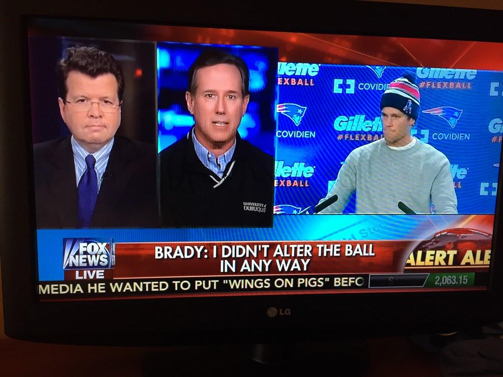 This is real life. Rick Santorum. On deflated footballs. http://t.co/WVDPKbMeE0