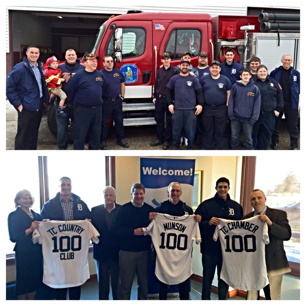 Congrats to Lake City Fire Department and the Traverse City Chamber of Commerce on 100 years of service #DETCaravan http://t.co/knilcrJULg