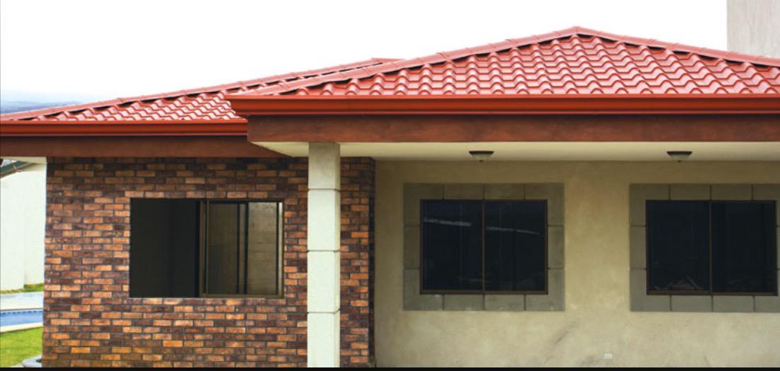 Laminaxmty on twitter aplicacion de nuestra lamina tipo teja en varios tipos de techo http - Laminas de techo ...