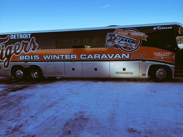 So #DETCaravan is up & going! @tigers http://t.co/pe40IYyqsw