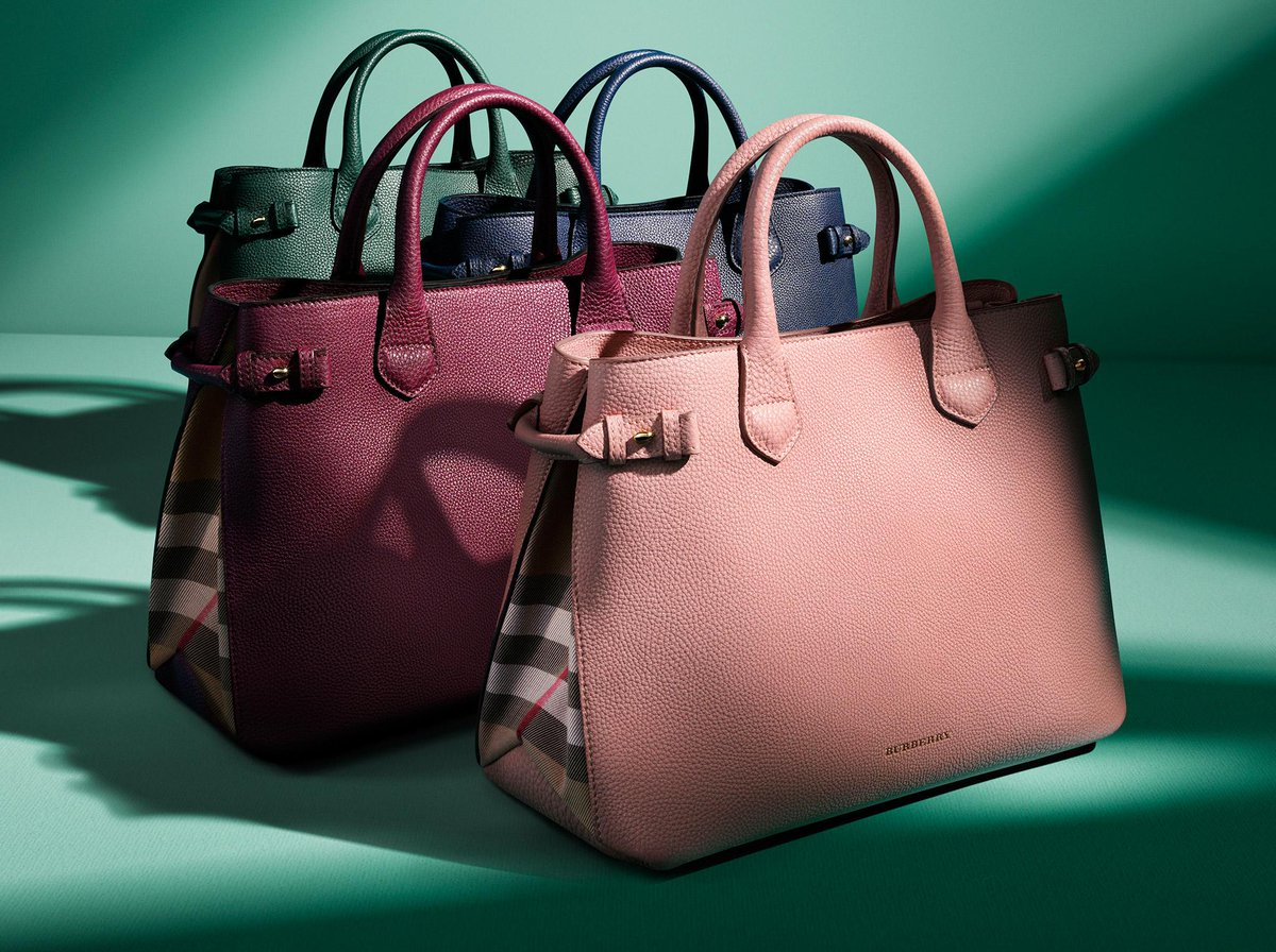 67db7268d5d9 discover the burberry banner bag in bright new season shades with check  detail for s s15