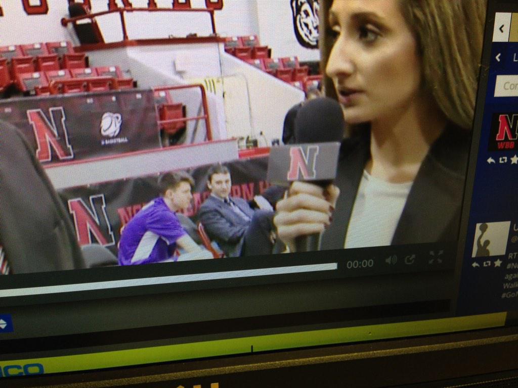 @JMUMBBManagers we've got a video coordinator sighting on #caatv