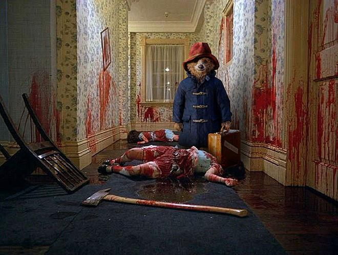 Sorry for including a gory photo in my Paddington review. I couldn't help myself. http://t.co/1Ws7FwttPa http://t.co/Mq7DDazxLP