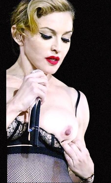 Madonna Nude Boobs