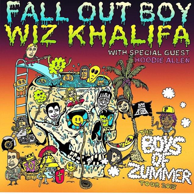 Fall Out Boy Ft. Wiz Khalifa