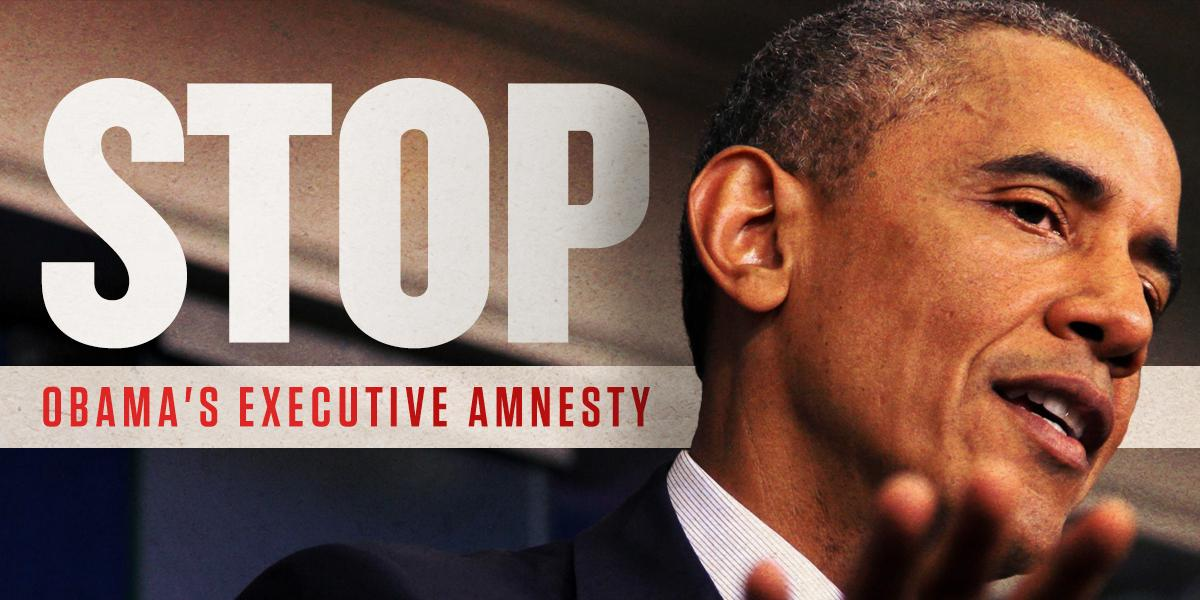 We're fighting to stop Obama's executive amnesty ... We're fighting for our nation's future! RT if you agree! http://t.co/Goi1j6dmPM
