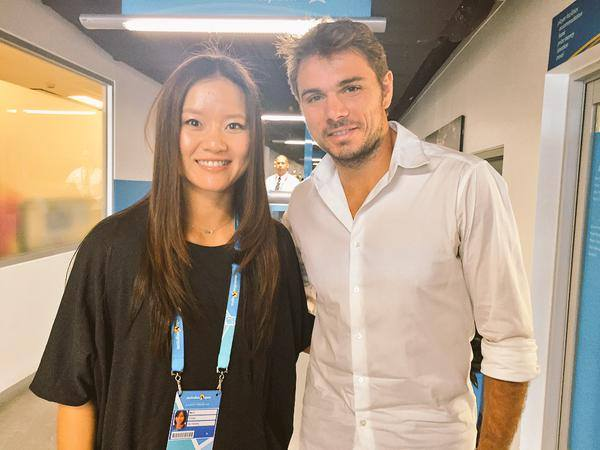 Li Na and Wawrinka ready for the Australian Open Draw making http://t.co/1IG7hECJaI