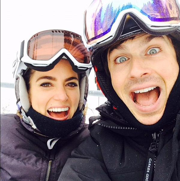 Congrats to these two love birds!Ian Somerhalder & Nikki Reed Engaged:  http://t.co/17nOL2evmS http://t.co/we0pP8vI7R