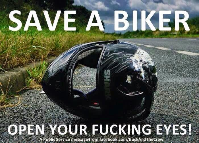 """@DailyBikers: Well said. http://t.co/alut2FvgNw""  #Bicycles And #Motorcycles #EyesUp!"