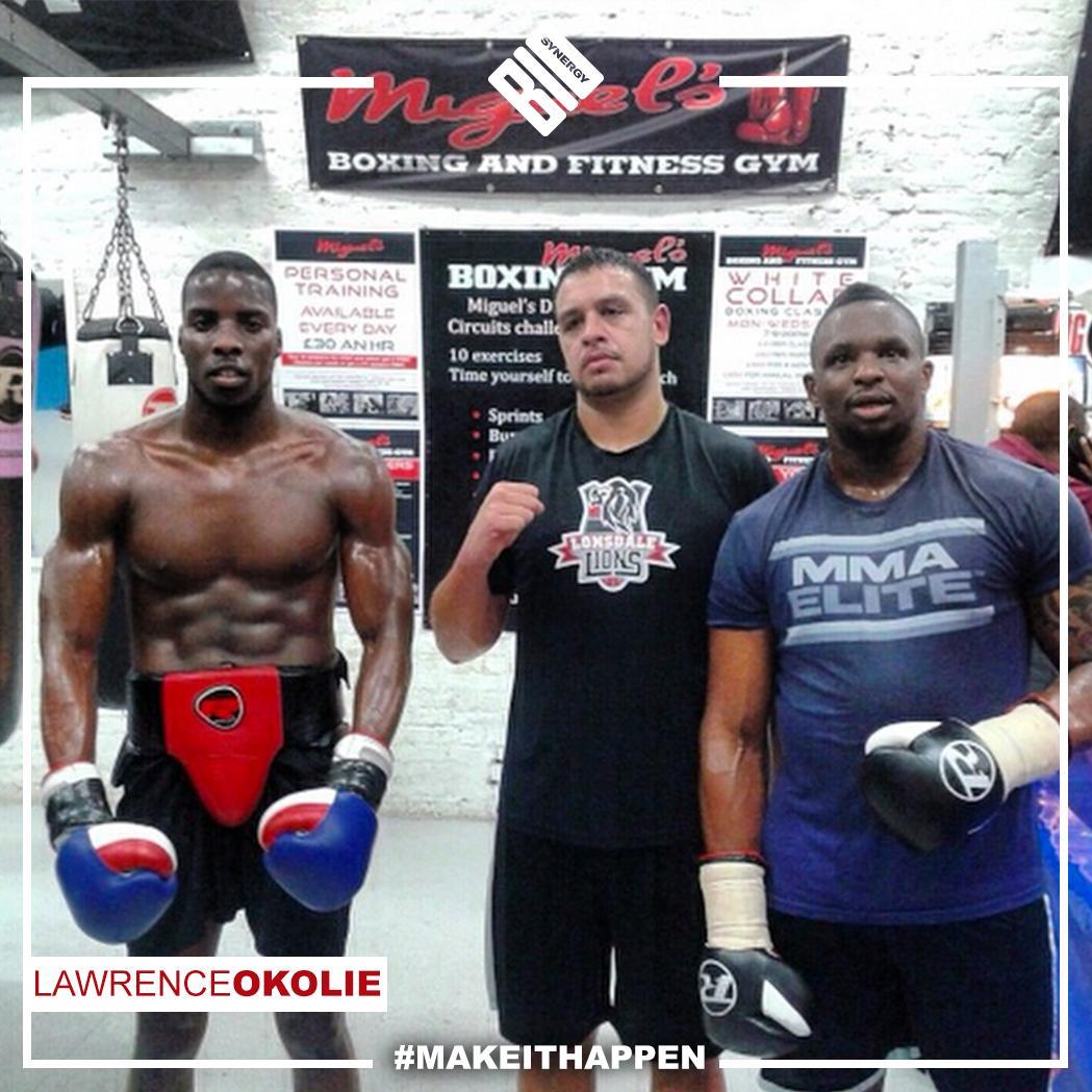 Lawrence Okolie height