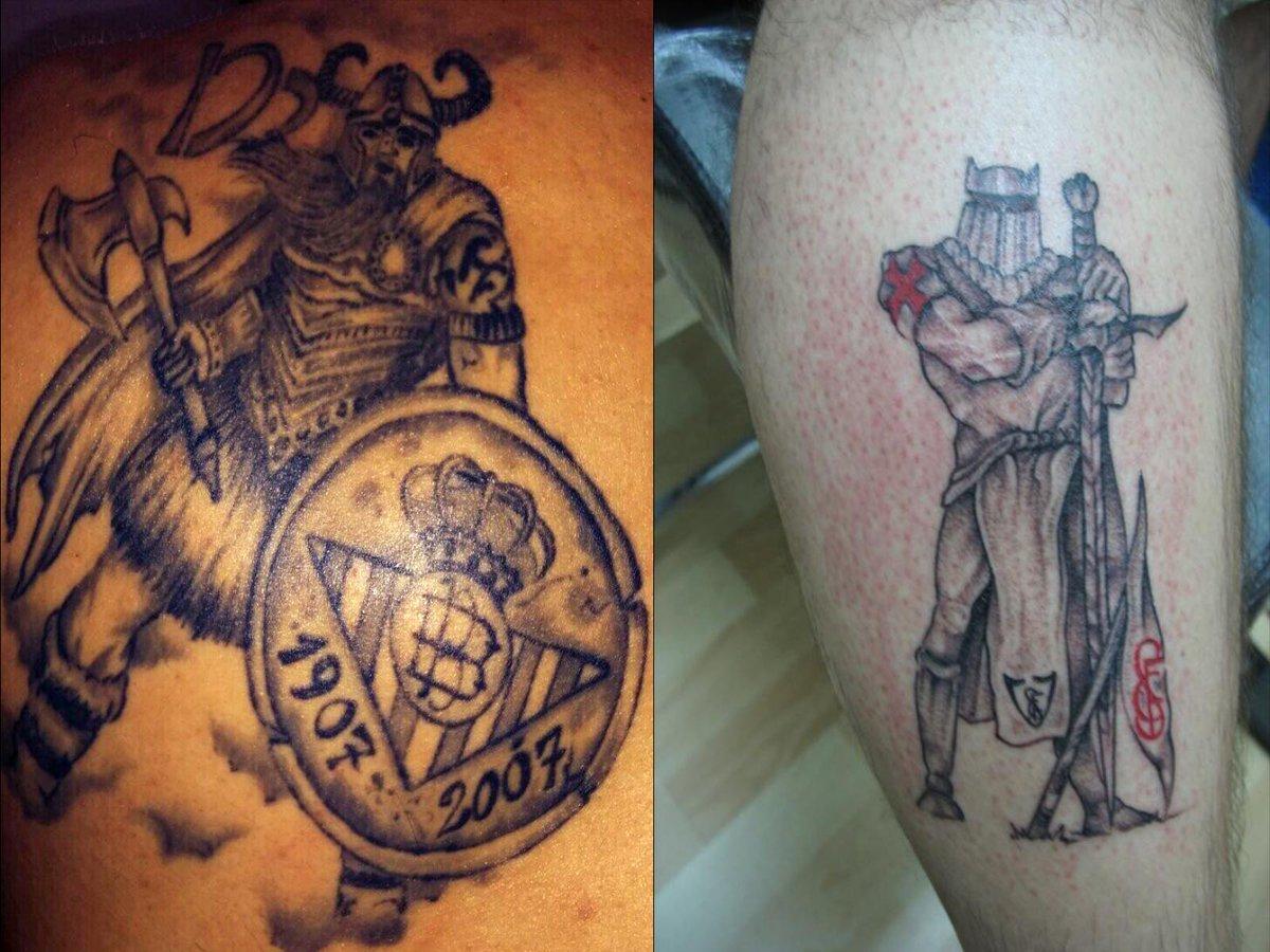 """Tatuajes Del Escudo Del Betis tatuajes del #betis on twitter: """"nosotros no escondemos nuestro"""