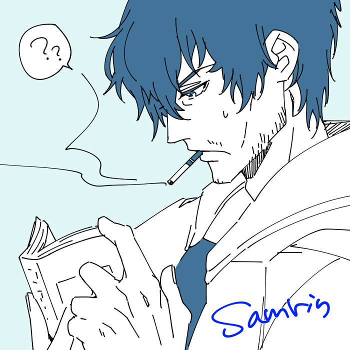 初描きサムリン。今度ちゃんと描くからね~!待っててサムリンちゃん!!!( ;∀;)