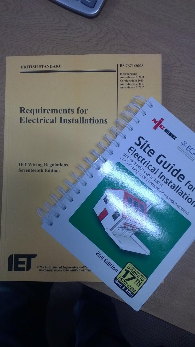 Ammendment3 Hashtag On Twitter Iet Wiring Regulations 17th Edition Book 3 0 Replies 8 Retweets Likes