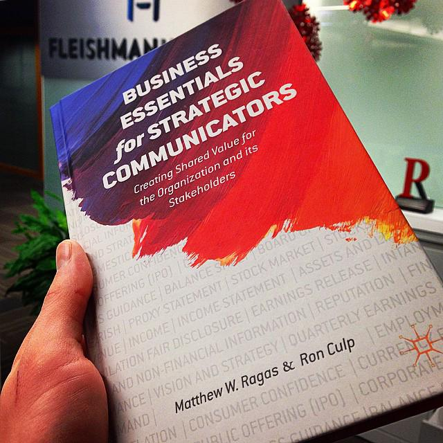 business essentials for strategic communicators creating shared value for the organization and its stakeholders