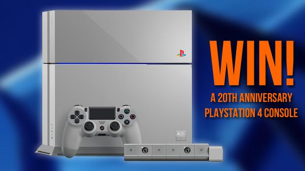 UK readers: Win a 20th Anniversary PS4! Follow us and hit RT to enter. T&Cs: http://t.co/dr5MpdmSOV Compo ends Jan 30 http://t.co/A5INtDTcrn