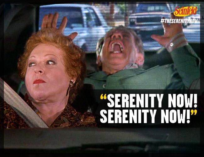 Image result for seinfeld serenity now