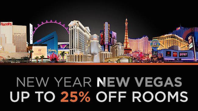 It's a new year and a new #Vegas! Book now for up to 25% off your stay in 2015. http://t.co/nhnSHFa9Gx http://t.co/JUw11OIyUB