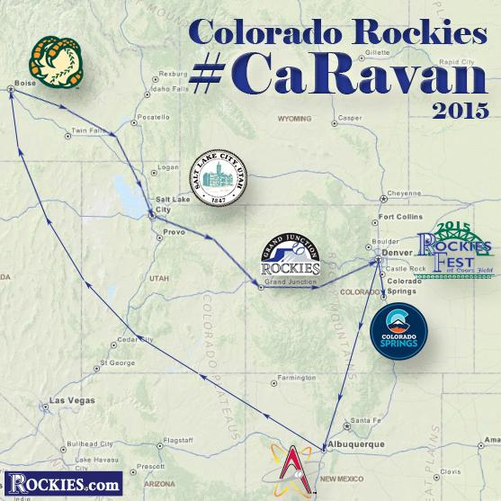 colorado rockies on twitter colorado springs albuquerque boise salt lake city grand junction we re coming caravan jan 23 28 stay tuned http t co 4gdeknml5x twitter
