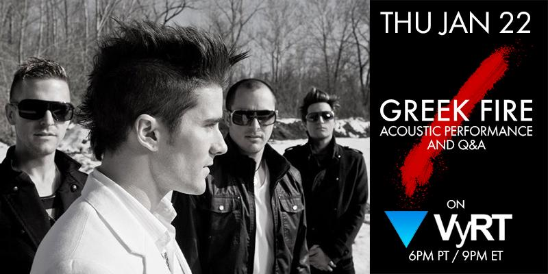 Join us on THURS JAN 22 at 6PM PT for a live performance & Q&A on @VYRT! Get access now @ http://t.co/1U9f2Xznyz. http://t.co/1ejWMtOQon