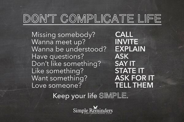 """Det enkle er ofte det beste. #selvledelse http://t.co/w7QPTC5JCn"""" via @TamaraMcCleary"""