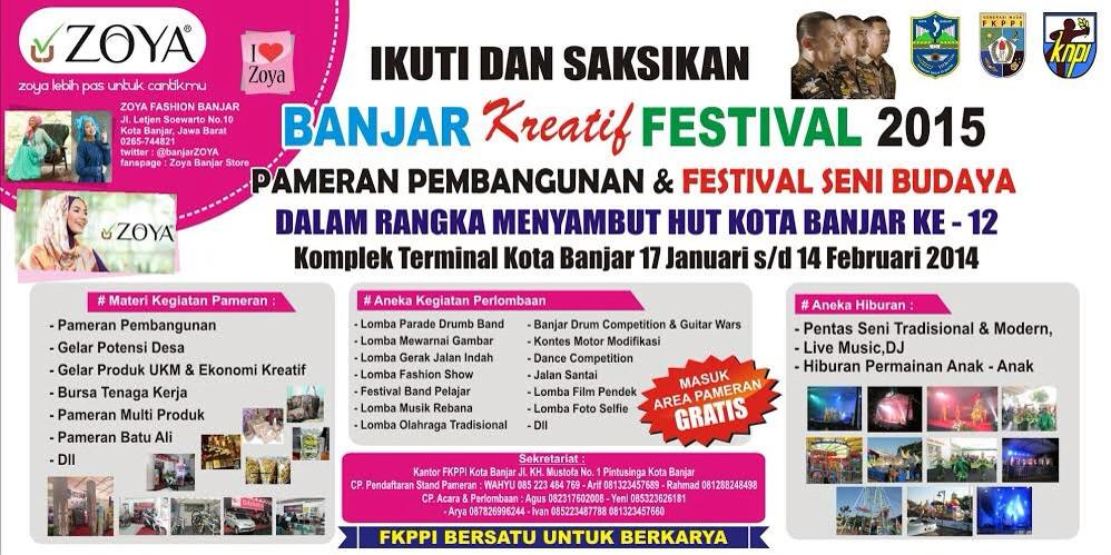 Zoya Fashion Banjar On Twitter Banjar Kreatif Festival Banjar