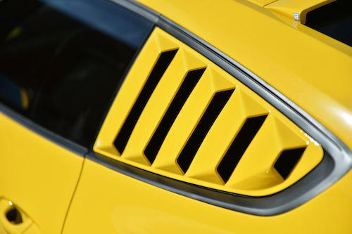 at New 2015 Mustang Window