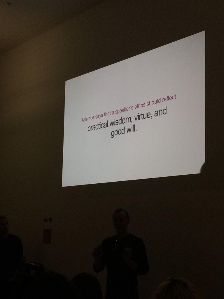 """Content is transactional"" - @hugeinc @HeyKluge http://t.co/FFDVwK4s6A"