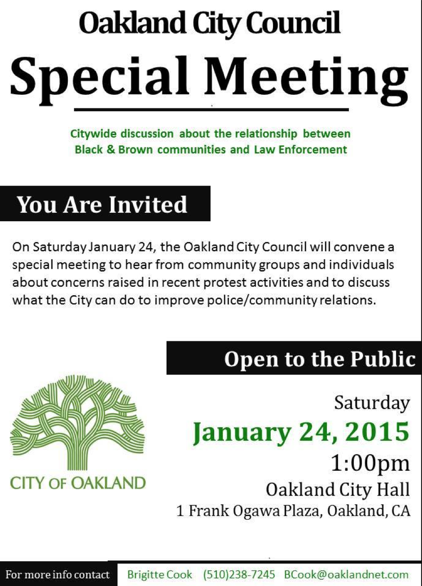 City Council Forum on #BlackLivesMatter @ Oakland City Hall, Oscar Grant Plaza | Oakland | California | United States