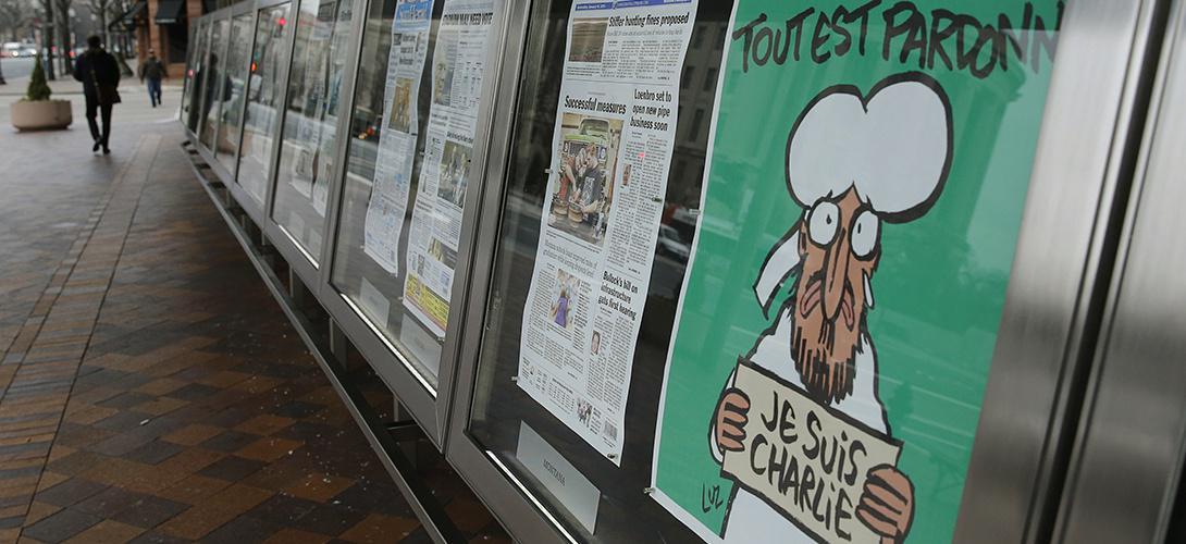 La presse US dénonce l'hypocrisie des restrictions françaises à la liberté d'expression http://t.co/k9YylNdMbQ http://t.co/gwlbfcPbM5