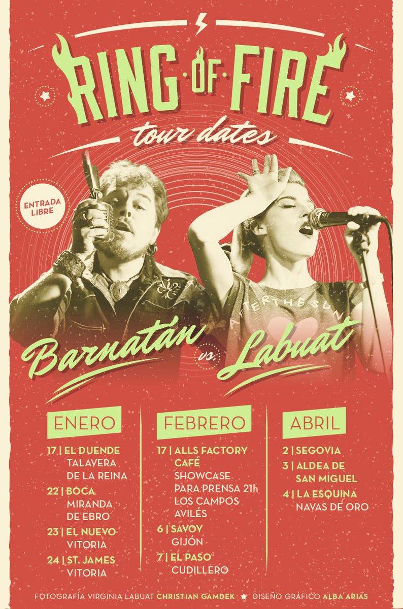 Ring of fire: Barnatán vs Labuat B7j1CPkIIAAER9f