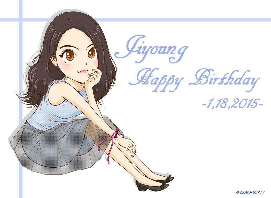 知英!お誕生日おめでとうございますo(*^▽^*)o 心を込めて、お祝いのイラストを贈ります。 幸せな女優活動ができますように。たくさんたくさん会えますように。 #JIYOUNGs_Birthday http://t.co/uNJF7GjiWi