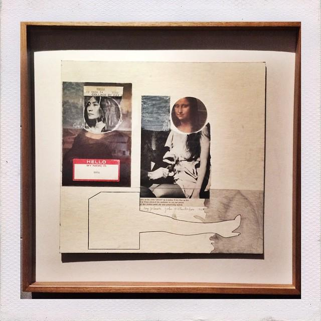 "Ray Johnson with Marcel Duchamp @yokoonoofficial vandalism in ""My name is Mona"" 1969 http://t.co/BSmQHUetu7 http://t.co/vSB0JjjUnM"