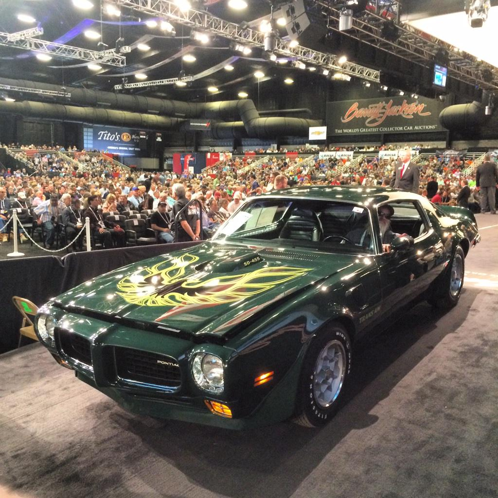 Barrett Jackson On Twitter 115 Buys Lot 1277 1973 Pontiac Trans Am Firebird Transam Super Duty 455 Barrettjackson Http Tco 0obovf2cwg