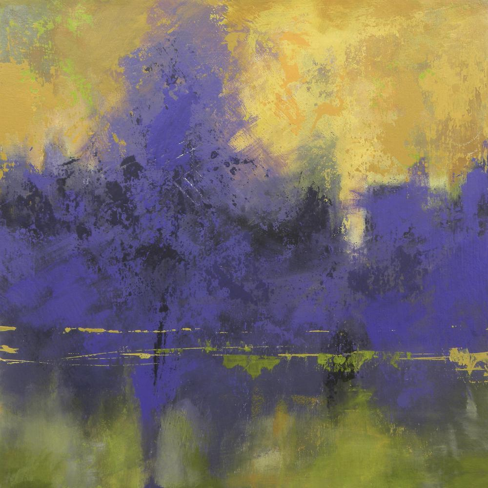 Denise Artist On Twitter A Recent Painting I Did Using Split Complementary Colors Abstractpainting Abstractoriginal Landscape Tco Xu6v7sUbcd